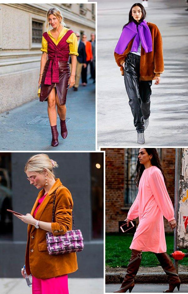 looks - marrom - como usar - trend - color