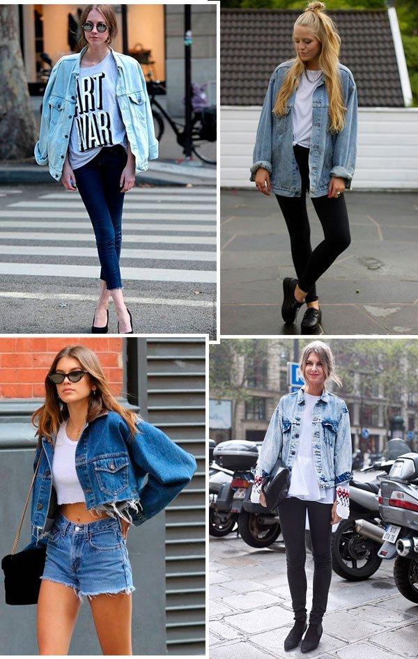 looks - jeans - jaqueta - celebs - looks