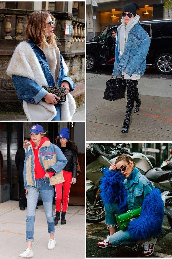 famosas - jeans - looks - jaqueta - como usar