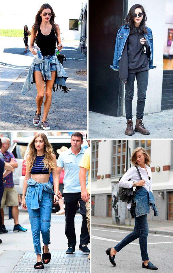 looks - jeans - jaqueta - cintura - como usar