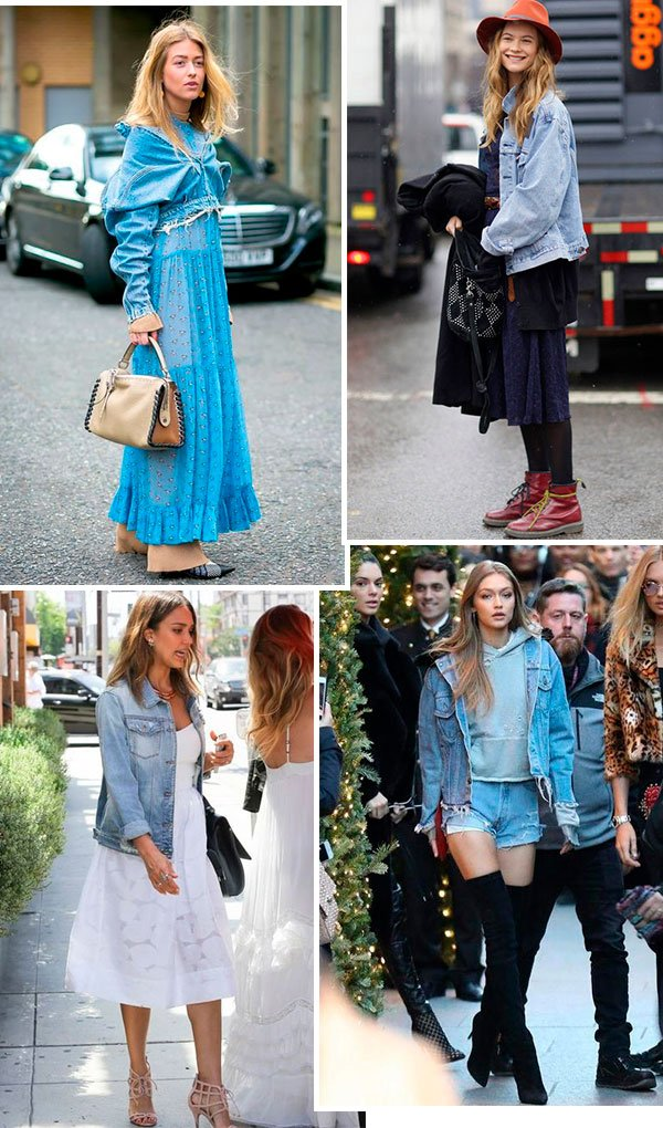 looks - jeans - celebs - como usar - jaqueta