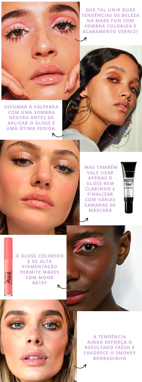 make - gloss - make up - sombra - batom