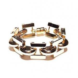 Bracelete Belle Tamanho: U - Cor: Dourado