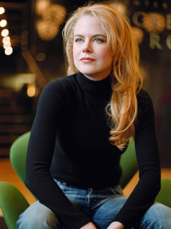 Nicole Kidman - turtleneck-jeans - turtleneck - inverno - street style
