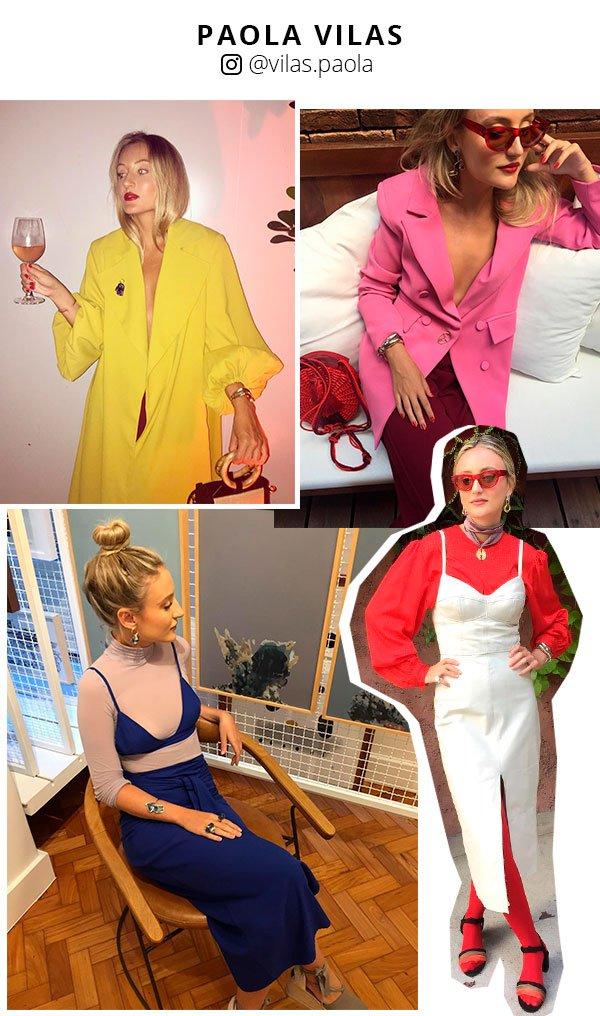 paola vitas - looks - instagram - moda - fashion