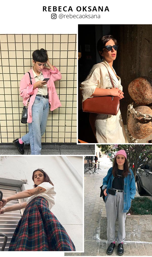 rebeca oksana - instagram - looks - moda - fashion