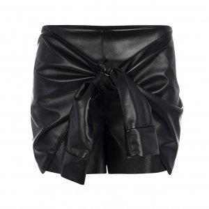 Shorts Saia Laço Tamanho: M - Cor: Preto