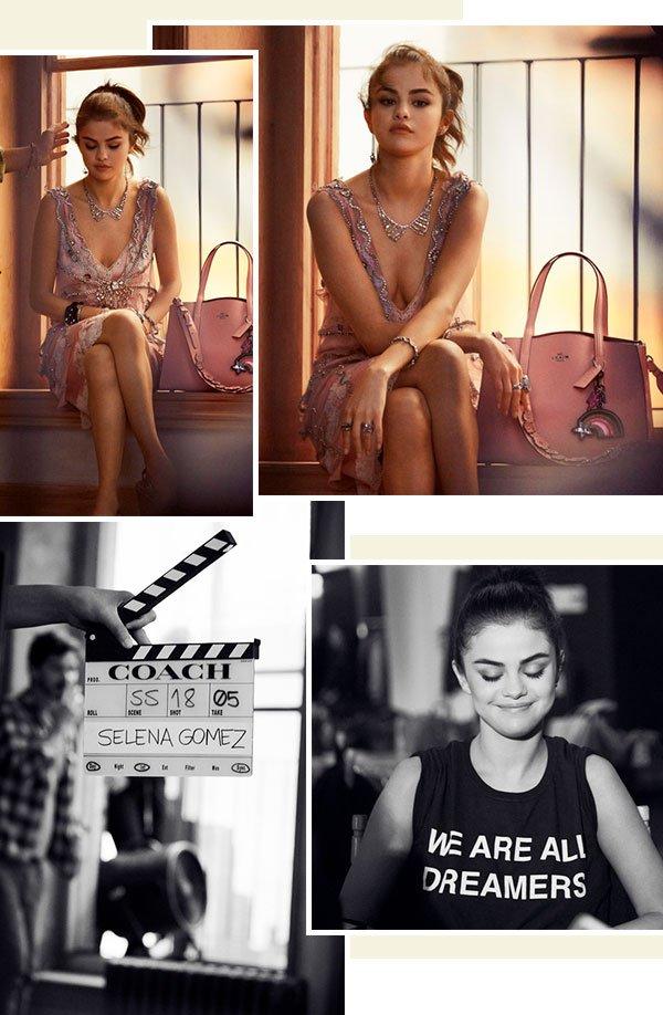 Selena Gomez - coach - campanha - fotos - loks