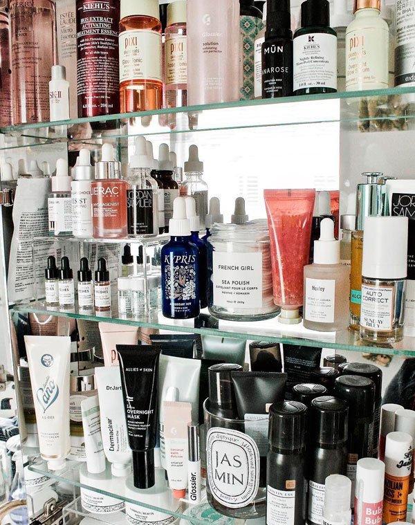 skincare - skincare-produtos-pele - skincare - inverno - banheiro