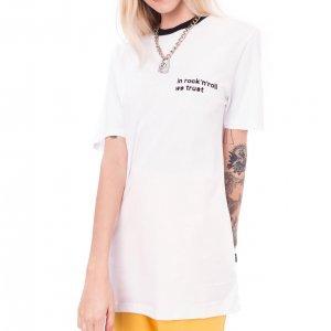 Camiseta In Rock'n'roll We Trust Branca Tamanho:  Pp - Cor:  Branco