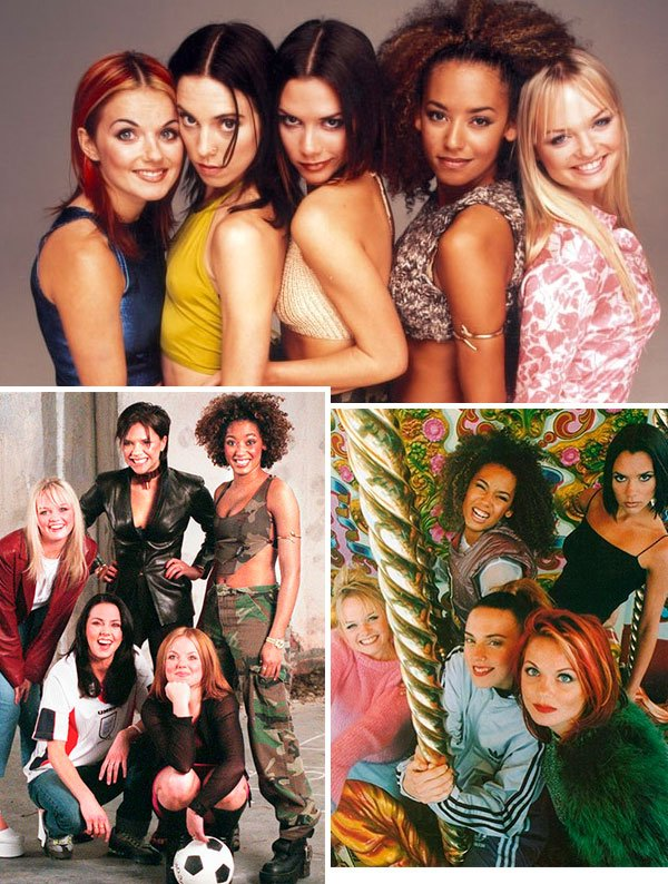 spice girls - estilo - looks - epoca - como usar