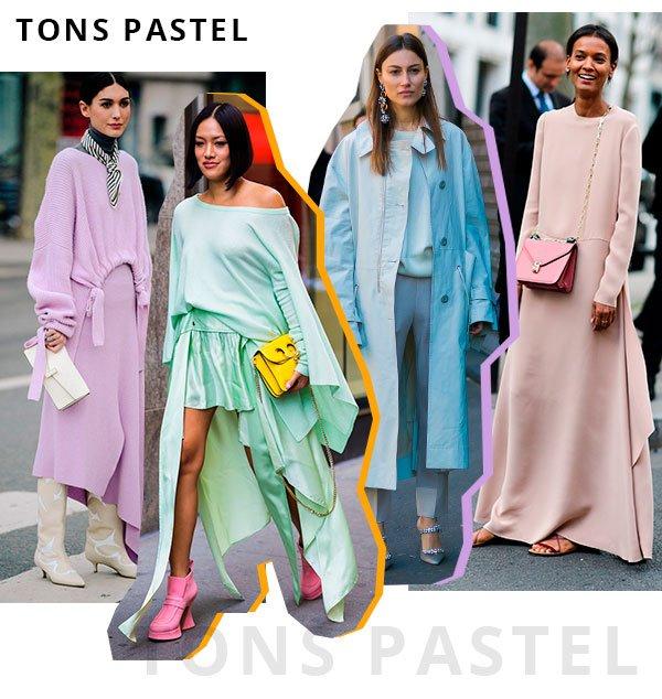 tons - pastel - looks - street style - lez a lez
