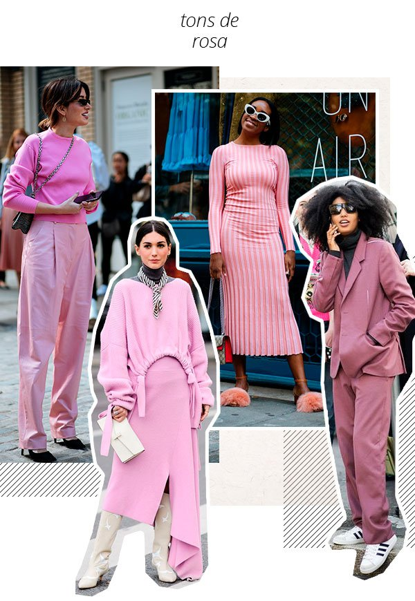 tons - rosa - looks - trend - como usar