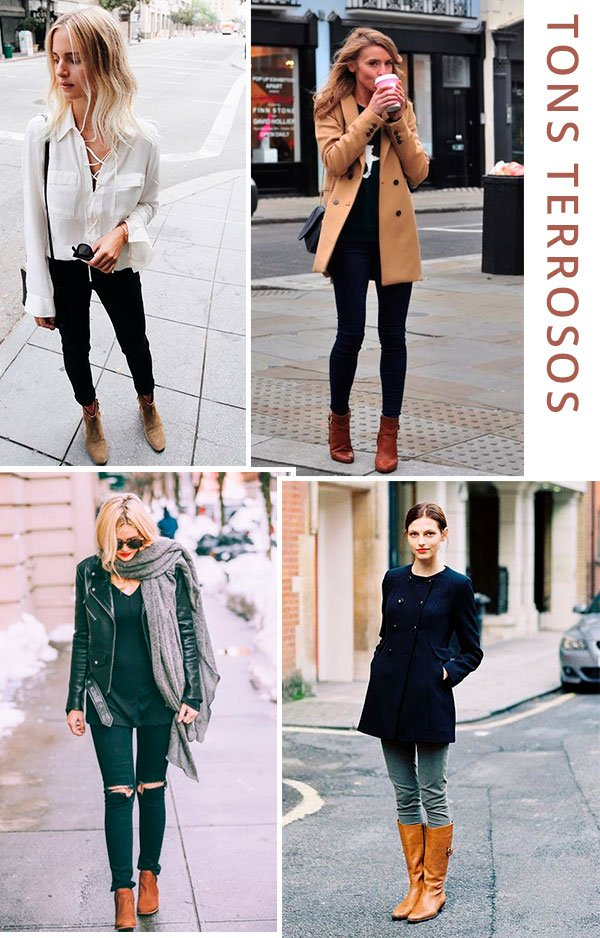 tons - terrosos - looks - trend - como usar