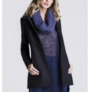 Trench Coat Feminino Lã Mista