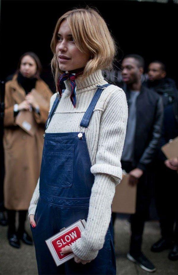 it girl - macacao-lenco-gola-alta - tricot - inverno - street style