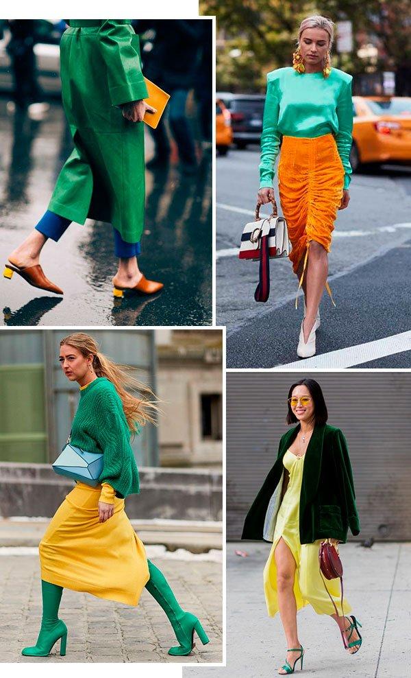 verde - amarelo - looks - trend - como usar