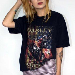 T-Shirt Vintage Danbury Tamanho: G - Cor: Preto