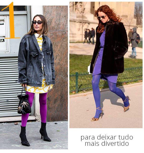 meia - calca - looks - colorido - como usar