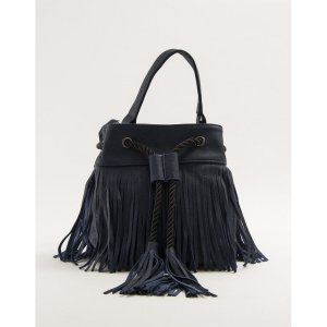 Bolsa Bucket Franjas Azul Tamanho: U - Cor: Azul