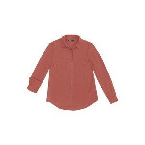 Camisa Básica Em Tecido De Viscose Com Fechamento Por Botão