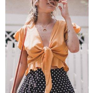 Blusa Bardot Mostarda Tamanho: M - Cor: Amarelo