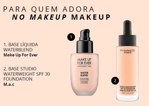 bases - dia a dia - make up - como escolher - leve