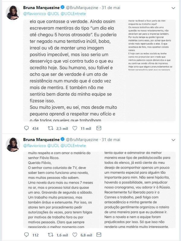 Bruna Marquezine - tweet - tweet - tweet - twitter