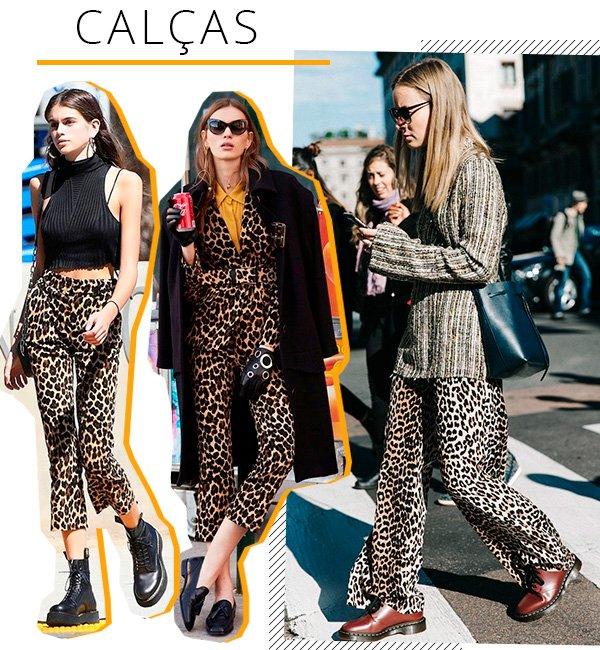 calcas - animal  - print - looks - comprar