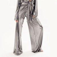 Pantalona Gale Tamanho: 42 - Cor: Prateado