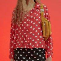 Blusa Amanda Vermelha Poás Tamanho: 38 - Cor: Vermelho