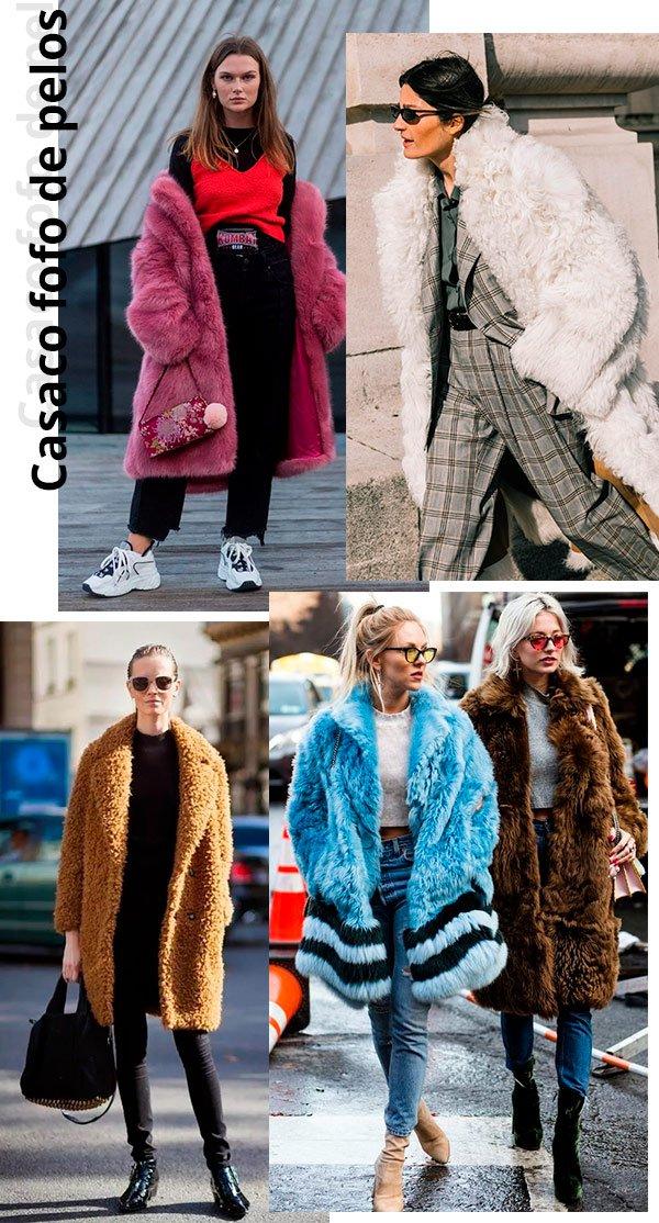 casaco - pelos - looks - compre agora - use para sempre