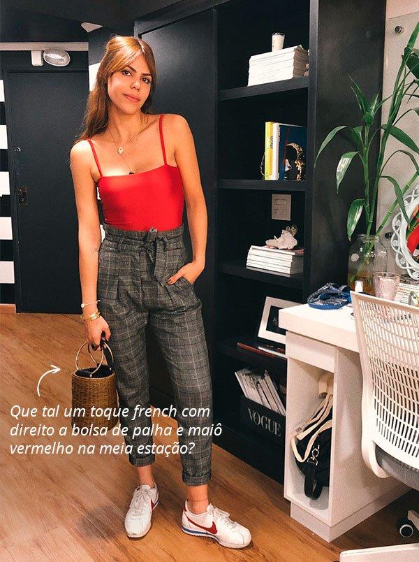 Catharina Dieterich - look - body - vermelho - verao