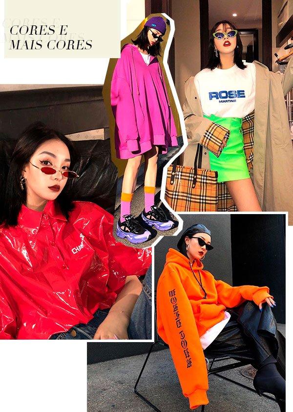 fengfan - roupas - cores - looks - insta girl