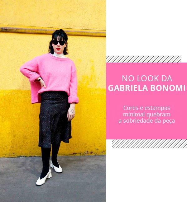 Gabriela bonomi - meghan markle - saia - lapis - look