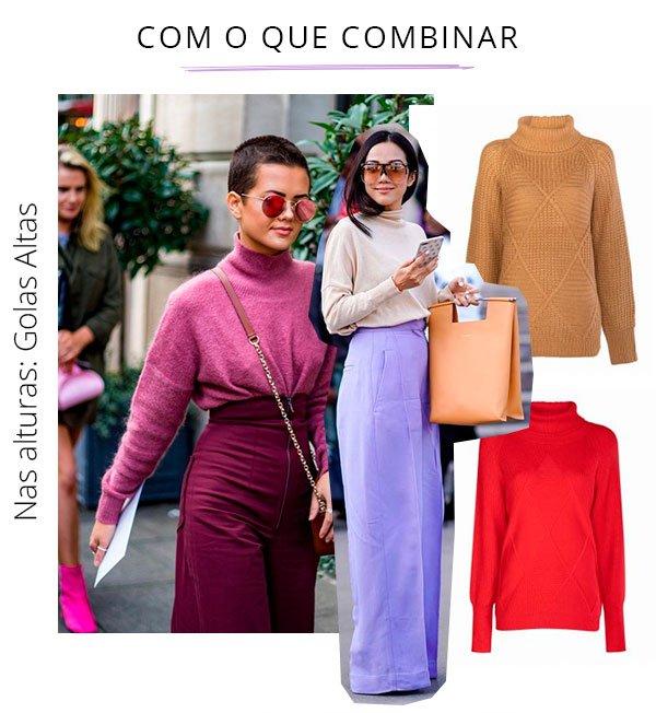 gola alta - cintura alta - trend - looks - color