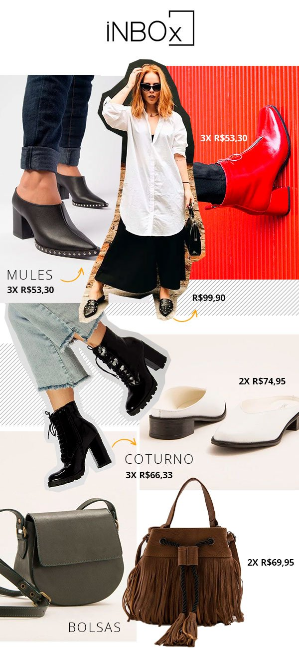 inbox - shoes - sapatos - looks - shop