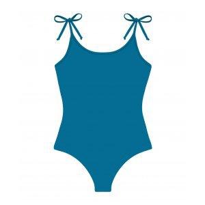 Maiô Laço Azul Tamanho: G - Cor: Azul