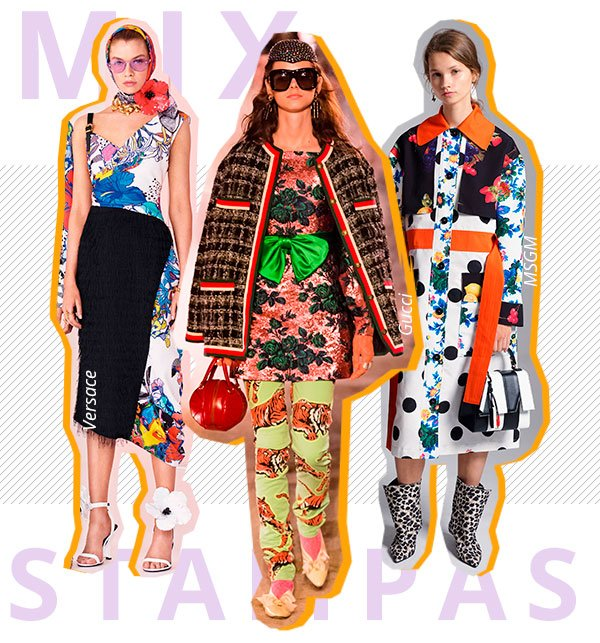 mix - estampas - look - trend - passarela