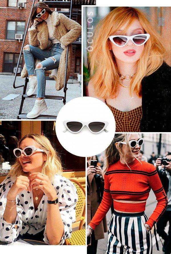 oculos - branco - looks - trend - comprar