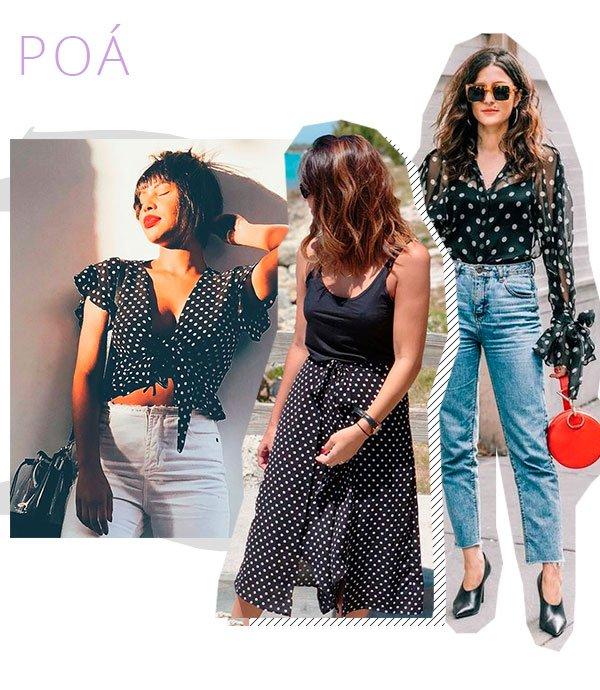 poa - polka dot - look - cmprar - trend
