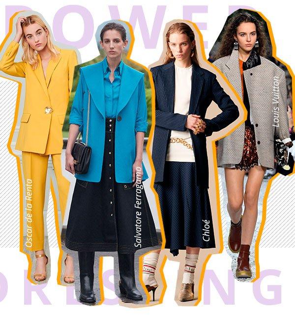 power - dressing - looks - desfile - tren