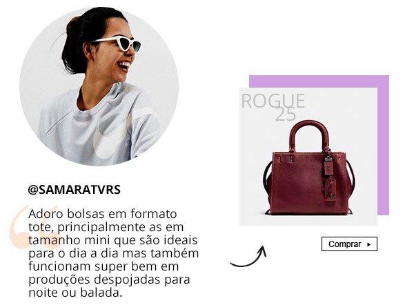 samara - bolsa - namorados - coach - presente