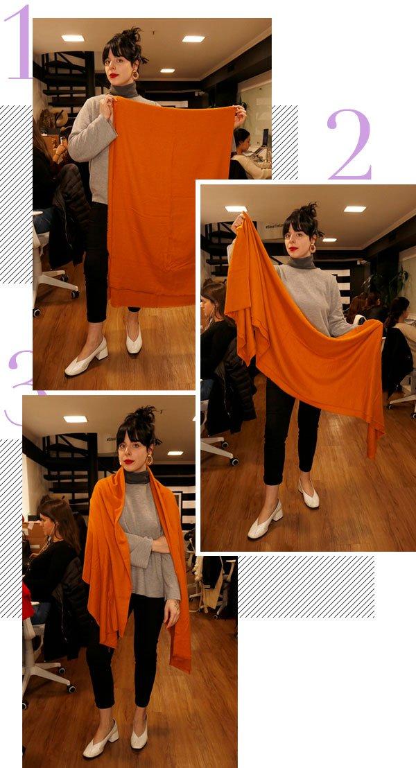 scarf - trend - looks - como usar - passo a passo