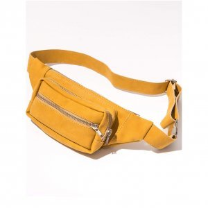 Pochete Tass Mostarda Tamanho: U - Cor: Amarelo
