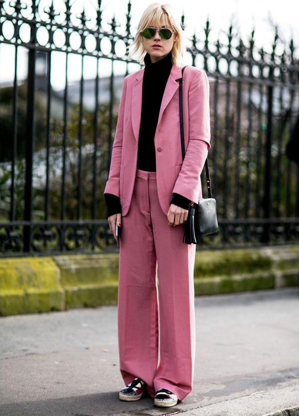 it girl - conjunto-rosa-turtleneck-preta - turtleneck - inverno - street style