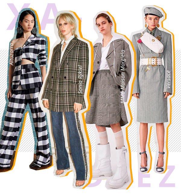 xadrez - looks - trend - passarela - looks