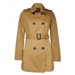 Trench Coat Feminino Com Cinto
