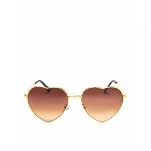Óculos De Sol Metal Coração