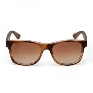 Óculos Unissex Wayfarer Marrom